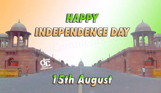 Happy Independence Day - 15th August
