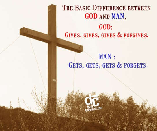 Difference between God and Man - DesiComments.com