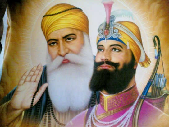 Sikh's first guru and tenth guru