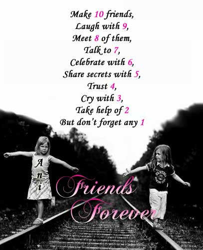 Friends foreverQuotes On Friends Forever