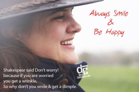 Always Smile & Be Happy