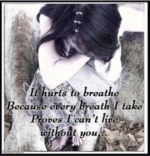 It hurts to breathe