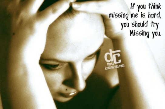You should try missing you