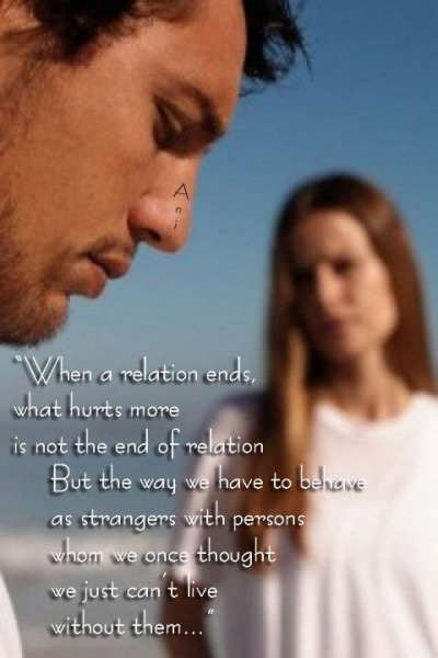 When a relation ends