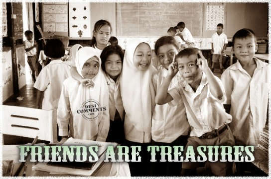 Friends Are Treasures