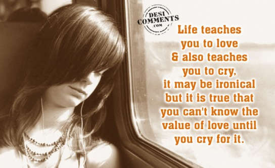 The value of love...