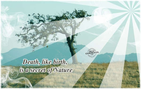 Secret of nature