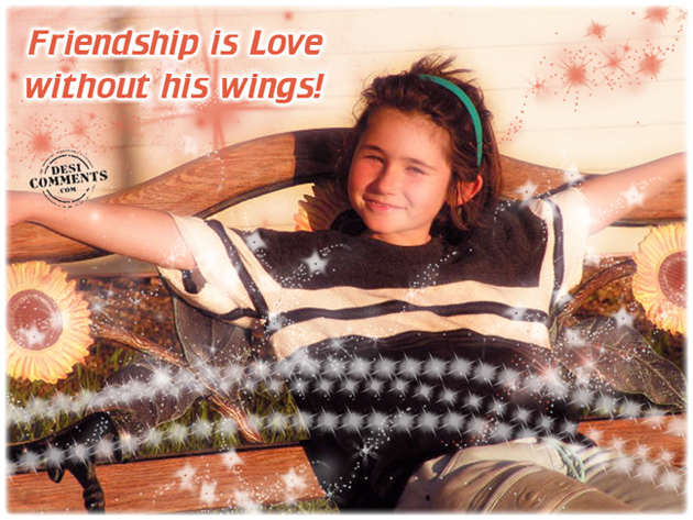 Friendship is love without his wings essay