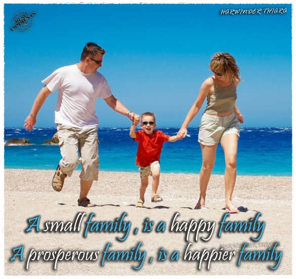 A small family, is a happy family