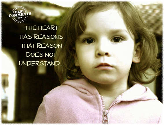Picture: The heart has reasons that reason does not understand