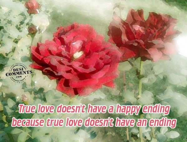 True love doesn't have a happy ending...