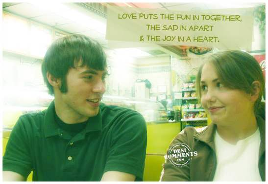 Love puts the fun in together