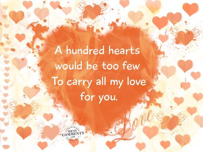 to carry all my love for you desicomments com