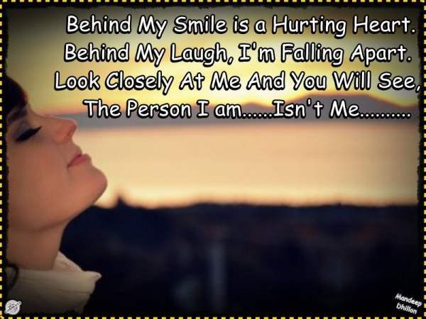 Behind My Smile is a Hurting Heart