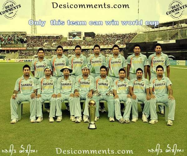 Indian (Sachin Tendulkar) Cricket Team