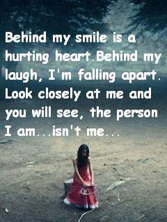 Behind my smile...