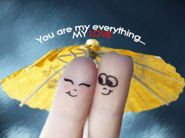You are my everything... My Love
