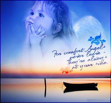 Angels never leave