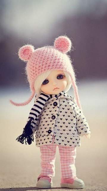 Cute Little Doll - DesiComments.com