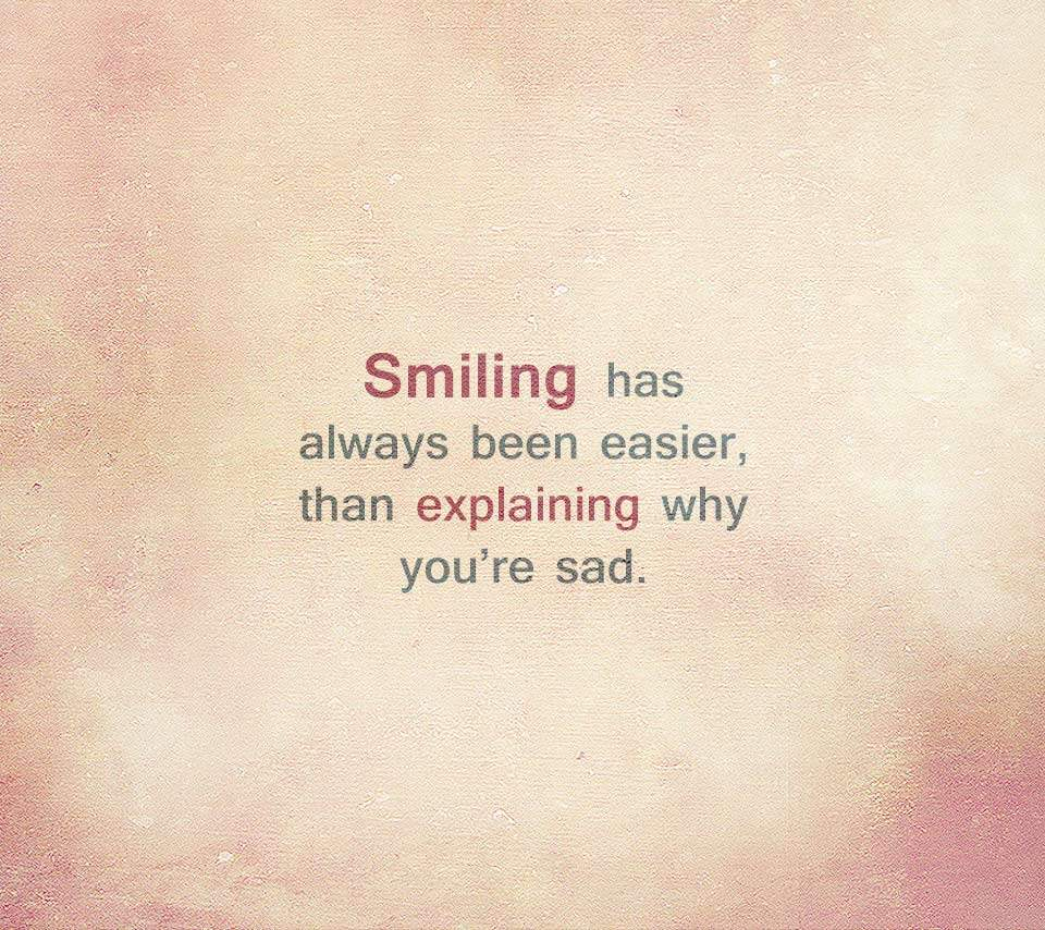 When Your Sad Smile Quotes. QuotesGram