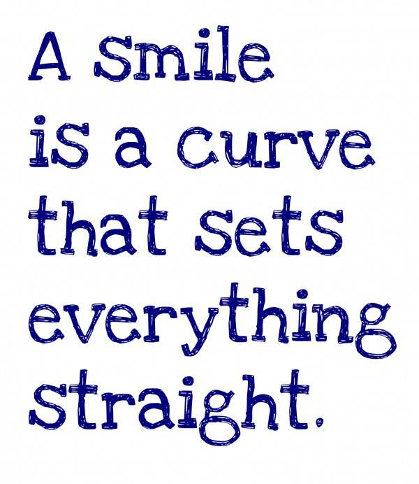 A Smile Is a Curve