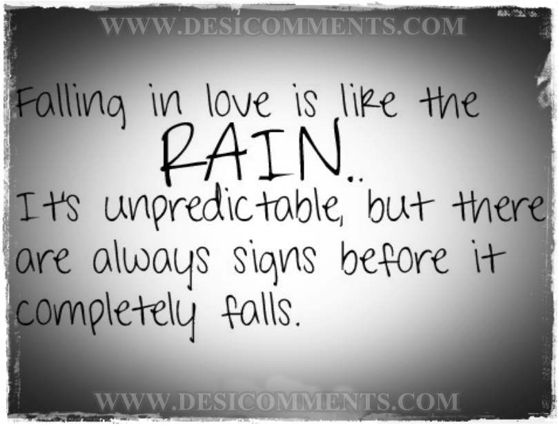 rain love quotes - photo #1