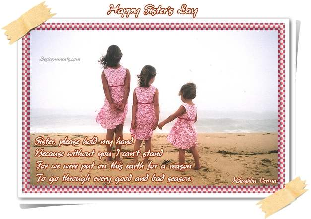 62 Happy Sisters' Day 2016 Greeting Pictures And Images  |Sisterhood Day