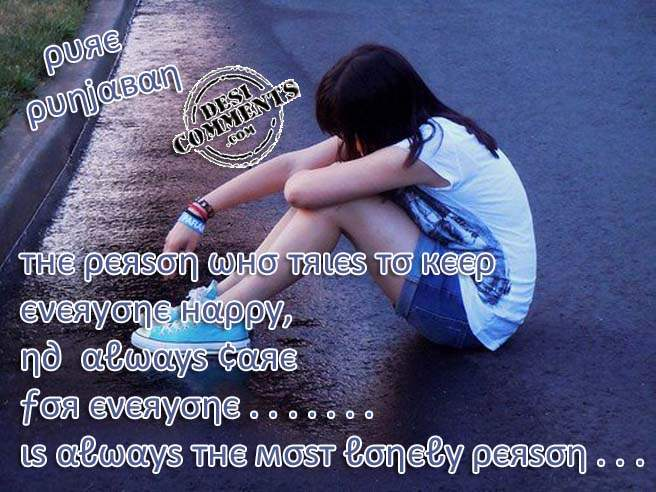 Lonely Sad Girl Images With Quotes Hindi Best Hd Wallpaper