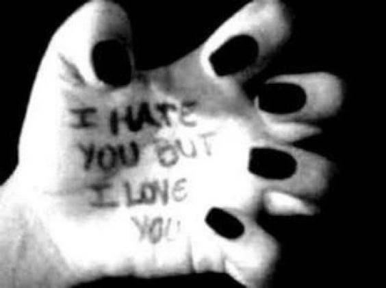 I hate you but I love you