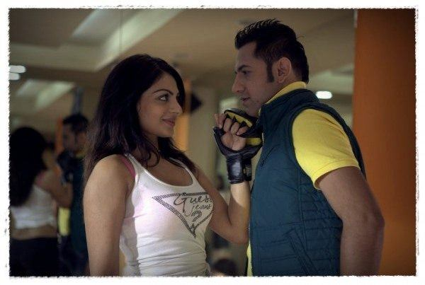Neeru bajwa and Gippy grewal