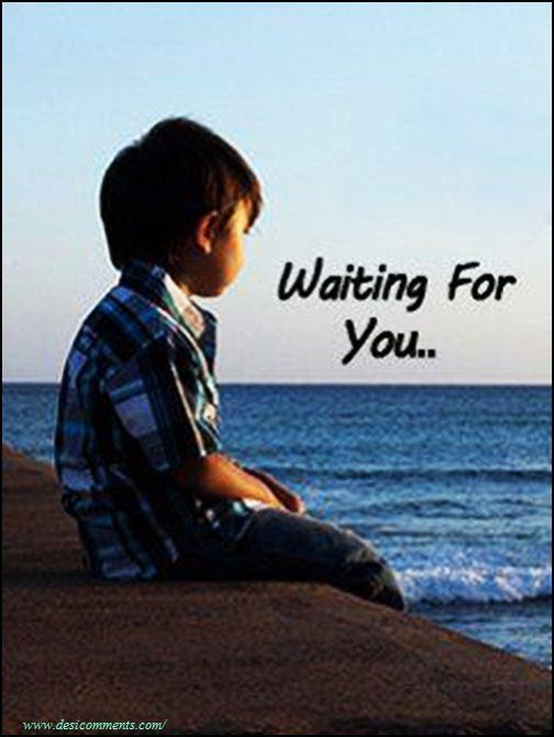 Boy Waiting For Girl Quotes: DesiComments.com