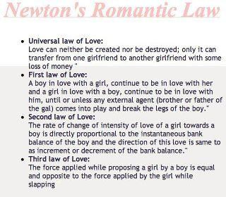 Newton's Romantic Law
