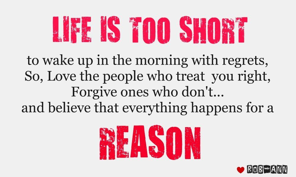 Life is too short - DesiComments.com