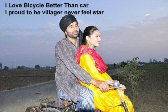 I love bicycle better than car