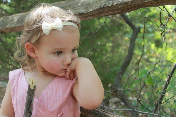 Cute Baby Girl Thinking Desicomments Com