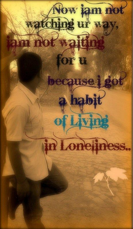 Living in loneliness