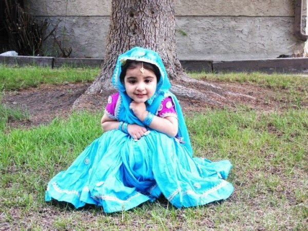 Cute Little Punjabi Girl