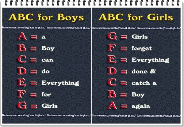 ABC for boys and girls (not for all)