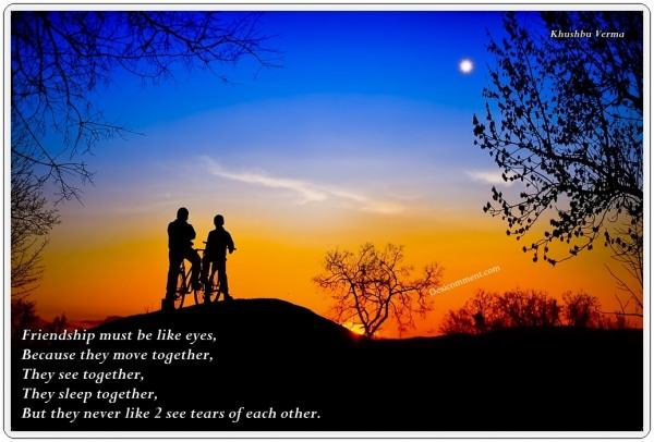 Friendship Like Eyes