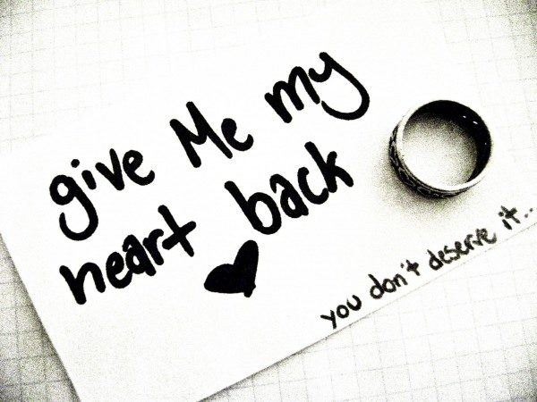Give me my heart back