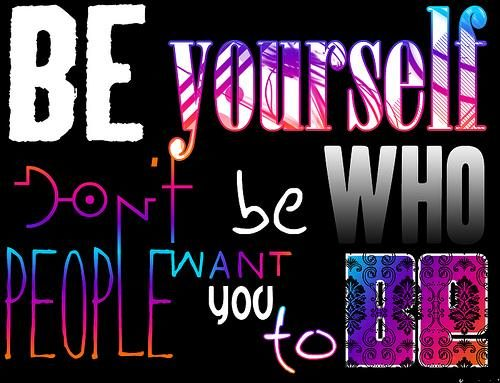 Who people want you to be