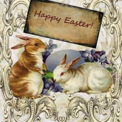 Good wishes on easter