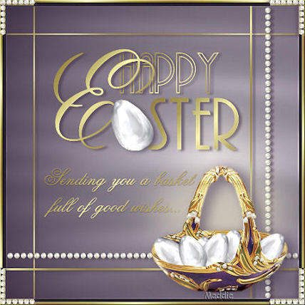 Good wishes on easter day