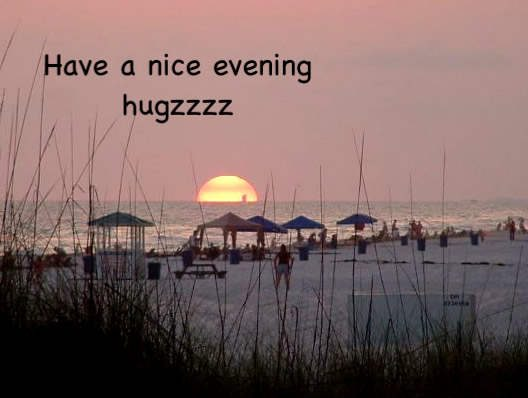 Have a nice evening huzzz
