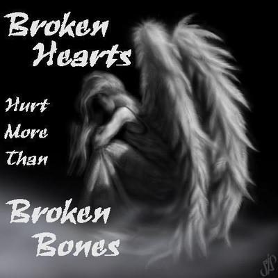Broken hearts and broken bones