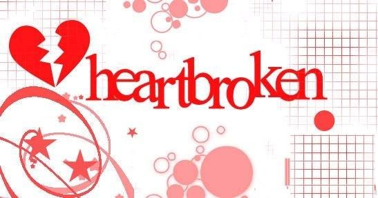 Stylish heart Broken graphic