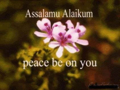 Peace be on you