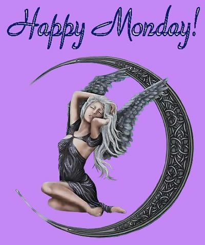 Angel – happy monday