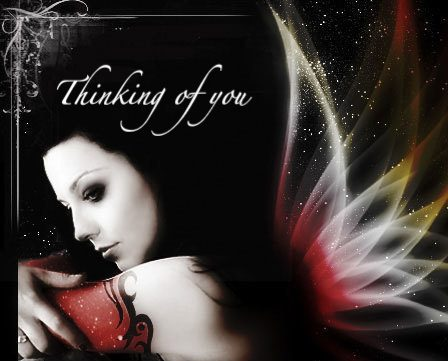 Awesome angel thinking of you