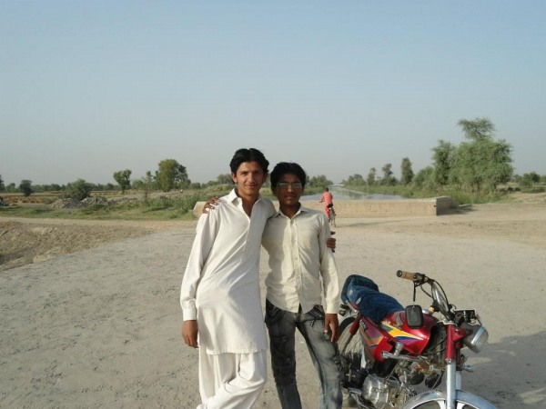 Mirza With Friend